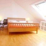Sun flooded Double Room