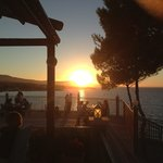 Balcony Hotel Resturant amazing Sunset Views