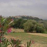 Montaione from Rigone