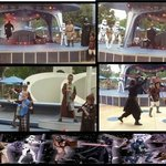 Interactive star wars show, great for the kids!