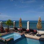 Pool/beach view.