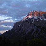 Sunset at Tunnel Mountain