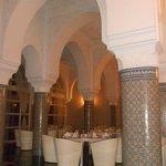 salle du restaurant marocain