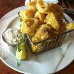 Curry Coated Calamari