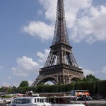 Eiffel Tower from the river tour
