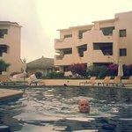 Nice ok sized pool by near tower J