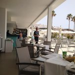 Pool side cafe