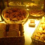 bread, pastries, bread rolls