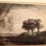 The collections of etchings is spectacular.