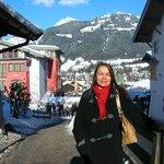 Chegada à Estação de Esqui