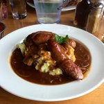 Sausage of the Day and Mash