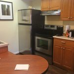 Kitchen showing new appliances