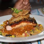 Blackened salmon special