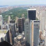 View from 67th floor Rockafeller Building