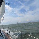 At Sea!