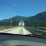 Dashboard view, Bridge of the Gods