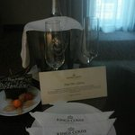 Birthday gift from the Hotel