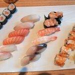 assortiments au Myo sushi bar