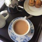 Welcome tea and cake!