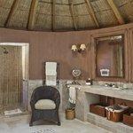 Large bathroom in superior suite