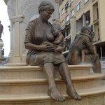 фонтан материнство
