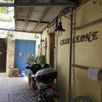 Entrance to Casa Leone