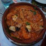 Shrimps in rice - so so