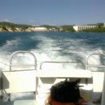 Leaving Christiansted for Buck Island