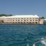 Great view of Christiansted Pier Hotel view
