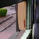Window Held Open By A Piece Of Wood