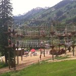 Ropes Course, seen from the chair lift