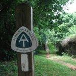 AT Trail Sign