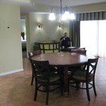 Dining area unit 554