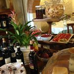 The food and drinks at Il Pozzo