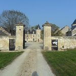 Entrance to Chateau de charge