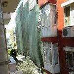 view from standard room - neighbours