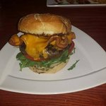 Ice House Burger with Bacon