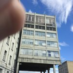 They Meyrick annex. (sorry about my thumb!). The other side is really dismal.