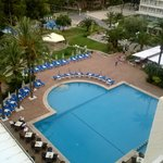 View from room 425-top pool
