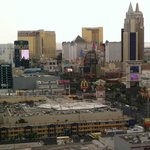 View of strip from 22nd floor