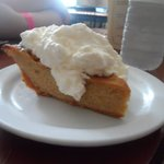 Maple Brandy Squash pie.  It was delicious!
