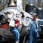 Join the Easter Bunny on his very Special Express