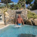 In una delle piscine della zona sud