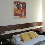 Decoración minimalista de las habitaciones 2da. planta del Hotel