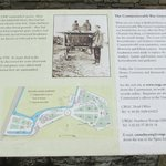 another information board in the cemetery