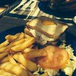 Amazing club sandwich at the pool restaurant.