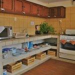 Cocina Dormitorio y Cuartos privados