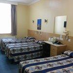 vista con 2 camas individuales