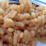 Cocción del arroz pésima