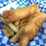 Junior size fish and chips